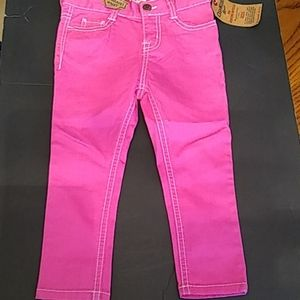 Oshkosh Girls Pink Jeans